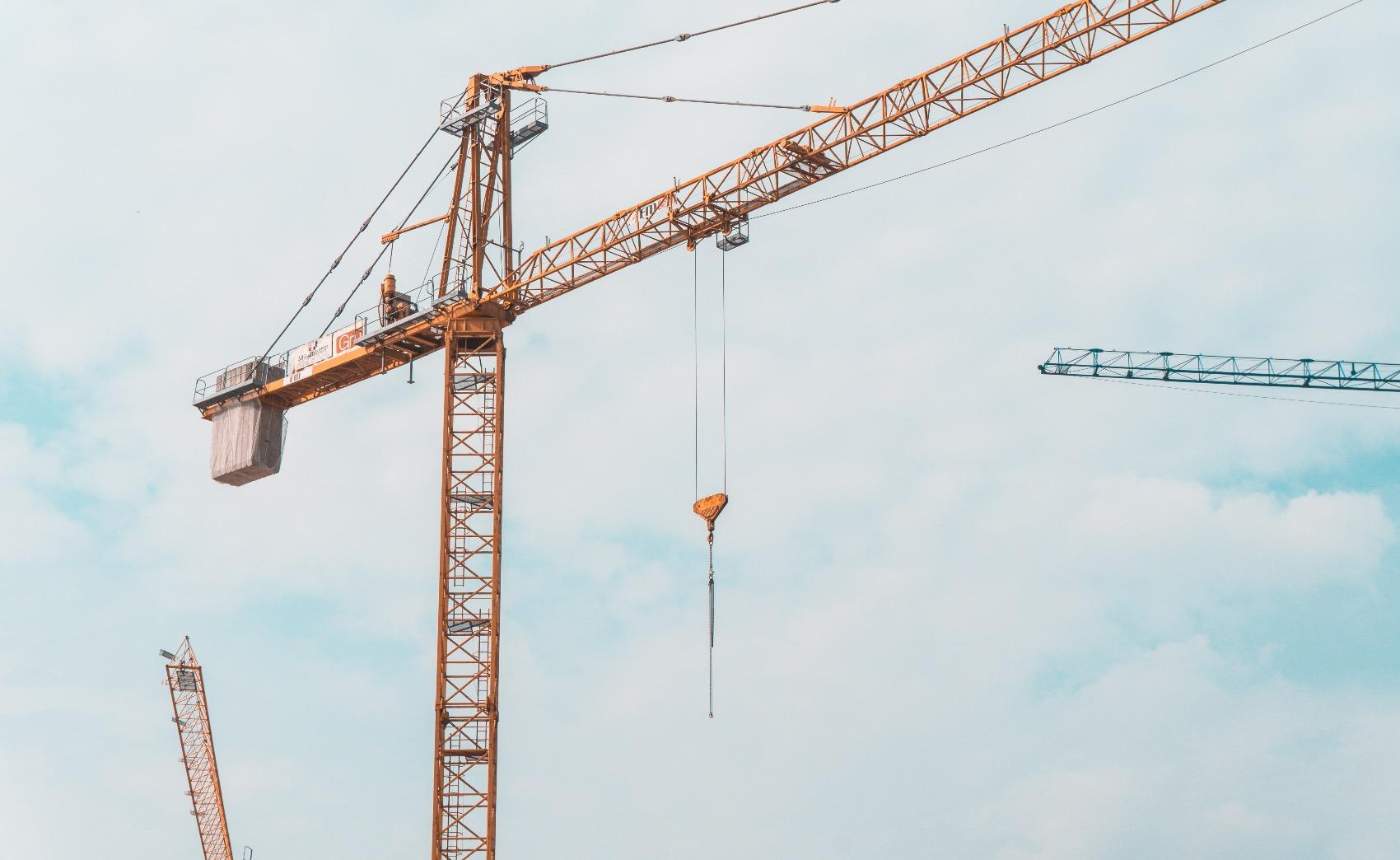 Novas taxas em vigor para empresas de construção